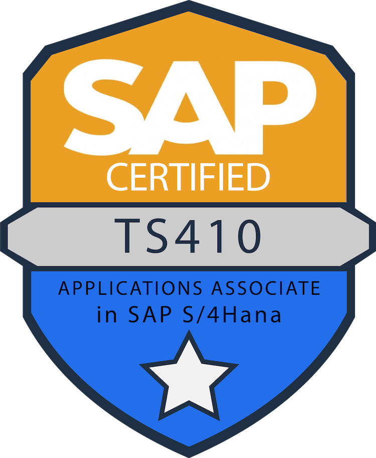SAP Certified badge