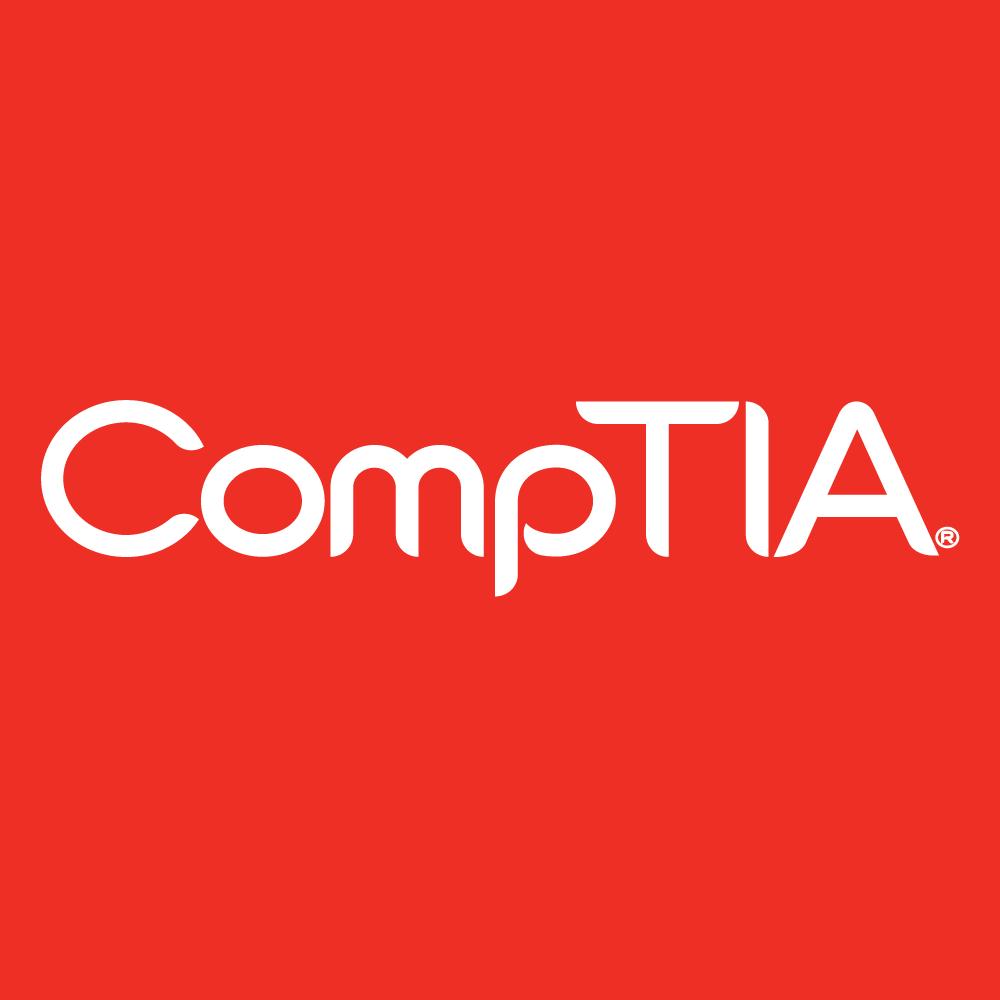 CompTIA Logo white