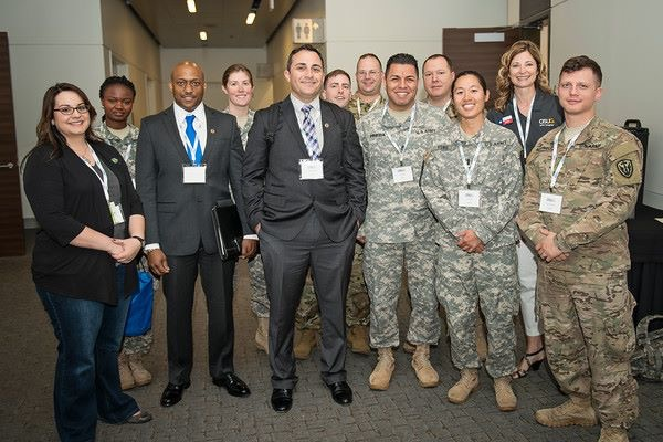group of veterans with SAP staff