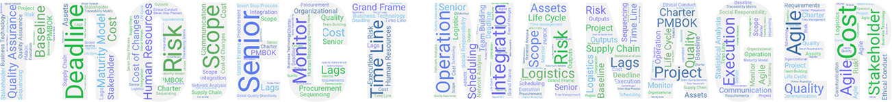 project managr word cloud